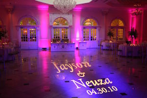 Gobo Projector | Golden Note Entertainment - NJ Wedding DJ and Entertainment Company