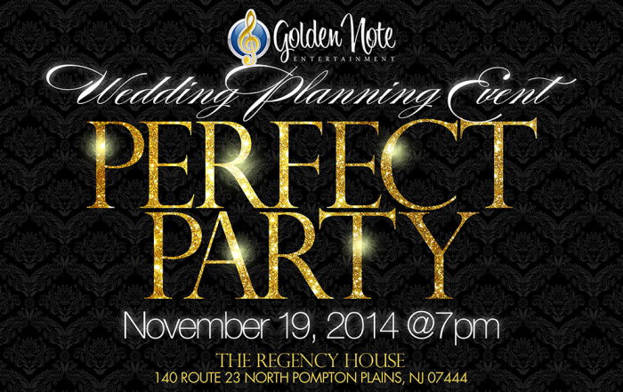 November 19 | The Perfect Party Event  | Regency House – Best Western | Pompton Plains NJ