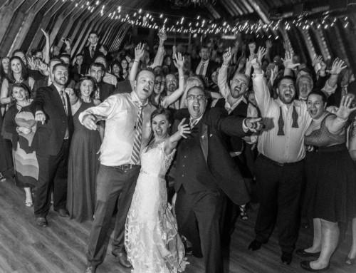 Jenn and John's Wedding in The Barn at Perona Farms
