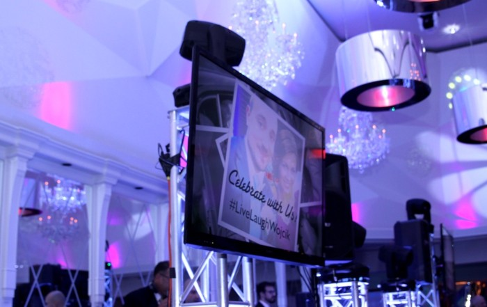 Flat Panel TV - Wedding | Golden Note Entertainment - NJ Wedding DJ