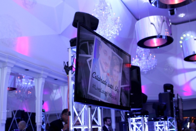 LED Screens - Wedding | Golden Note Entertainment - NJ Wedding DJ