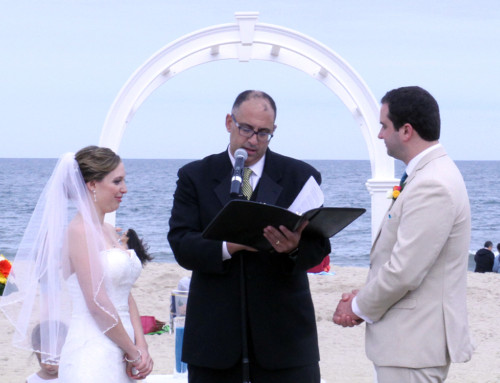 Bill and Valerie's Beach Ceremony at McCloone's