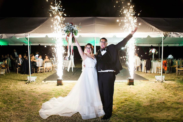 Sparkler Fountain | Golden Note Entertainment
