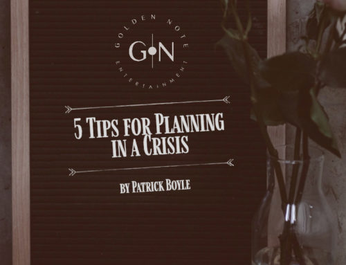 5 Tips for Planning in a Crisis